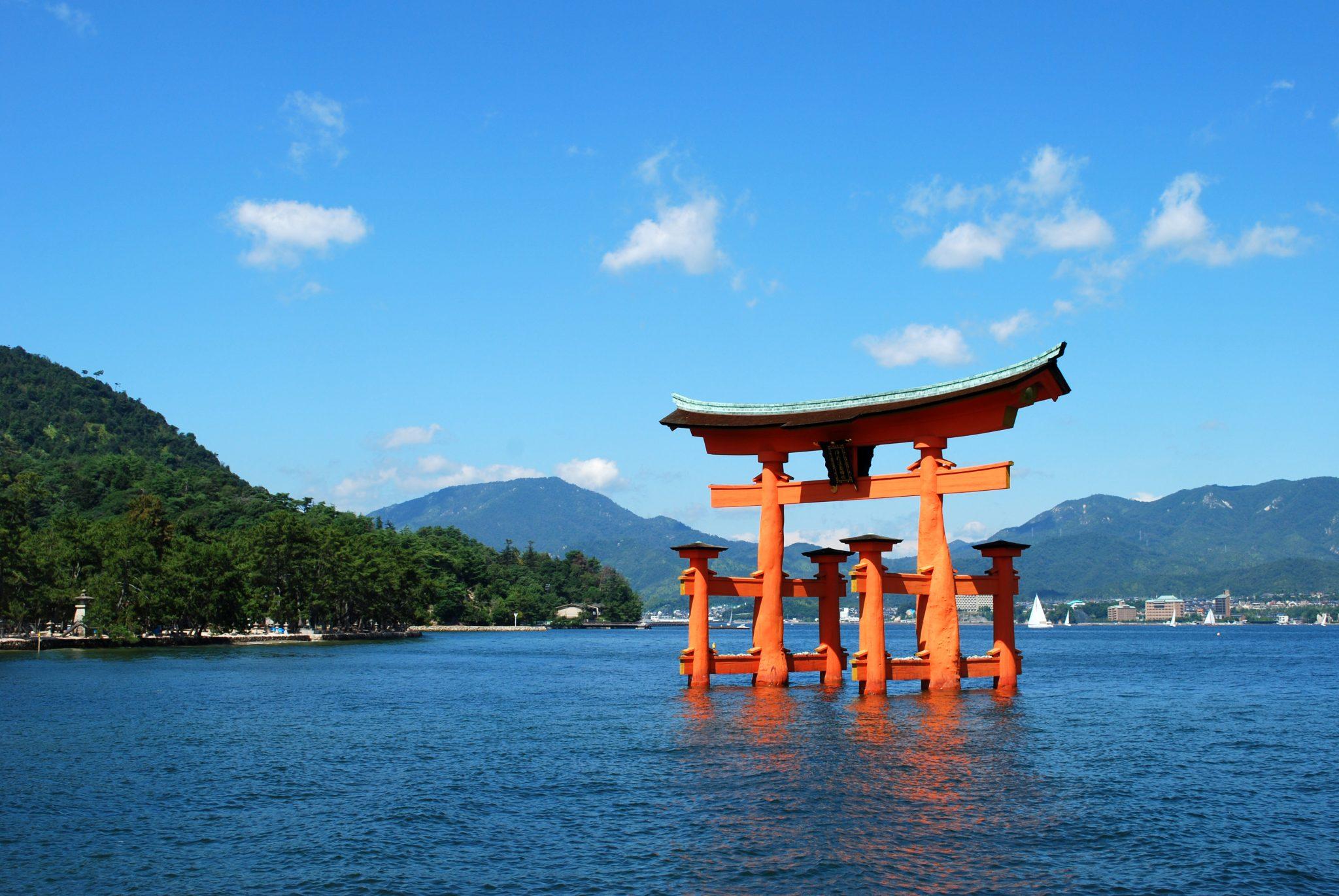 Image result for 厳島神社