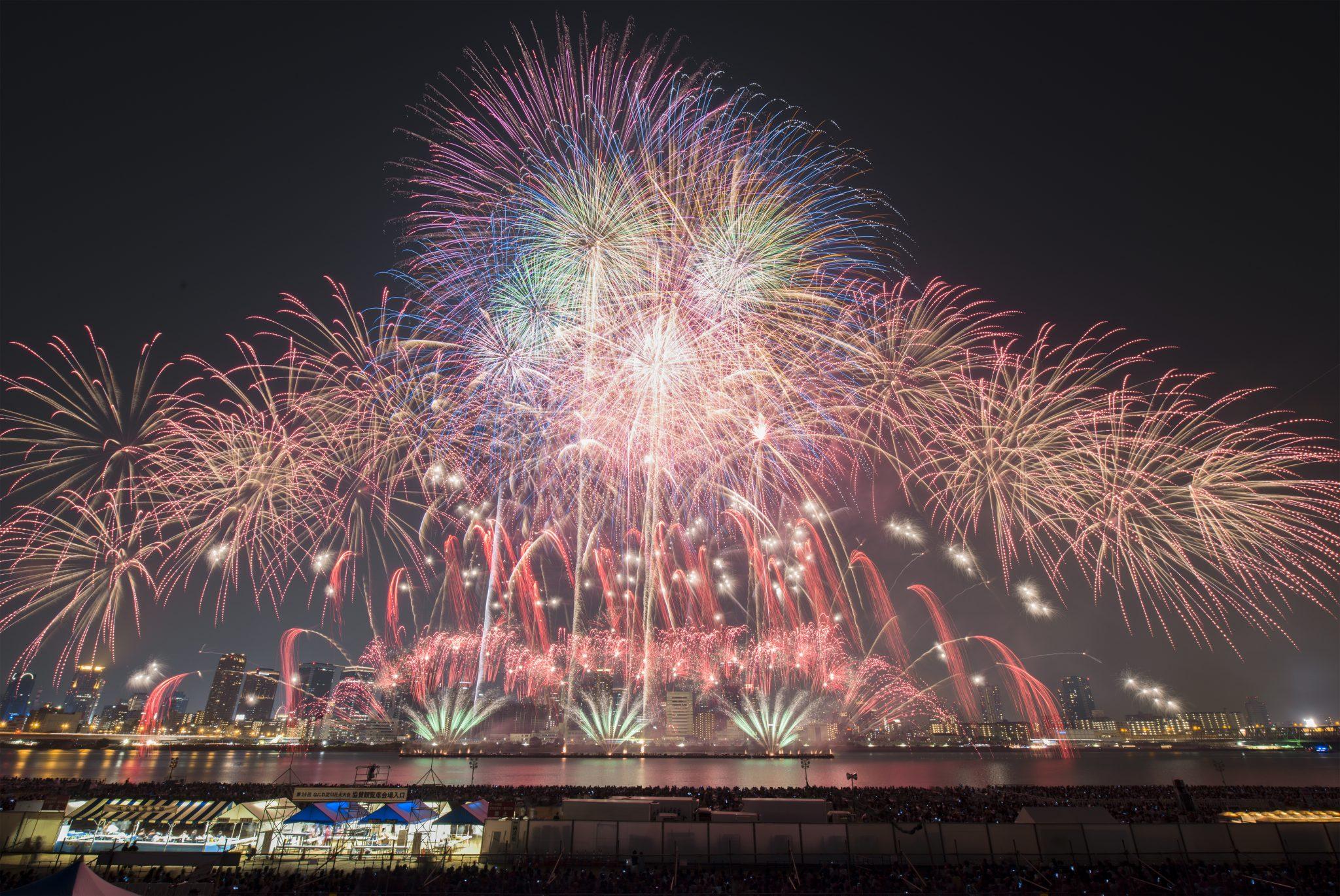 なにわ淀川花火大会2019年の日程・時間と場所取りおすすめ ...
